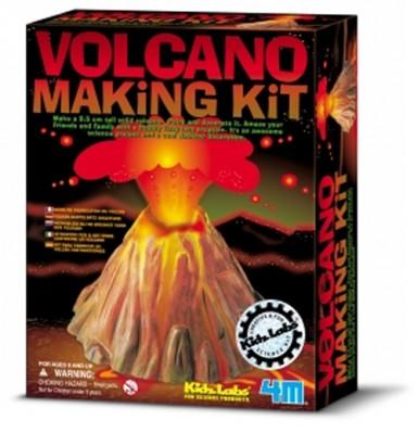 Vulkan-Bastelset
