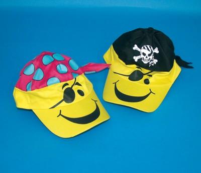 Mütze Pirat 2er Set
