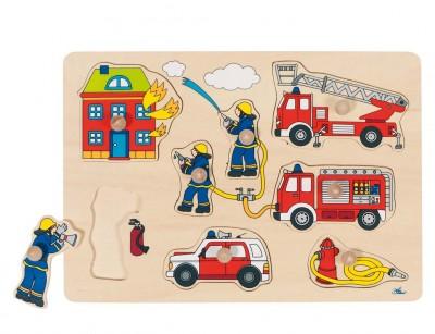 """Steckpuzzle """"Feuerwehr"""""""