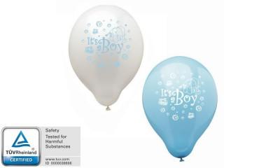 "Luftballons 12 Stk ""Its a Boy"""