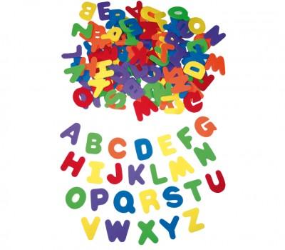 Moosgummi Großbuchstaben