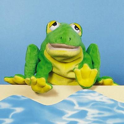 """Handpuppe """"Frosch"""""""
