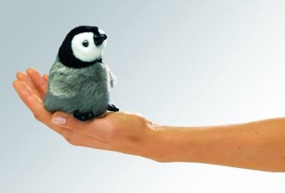 Fingerpuppe Baby-Pinguin