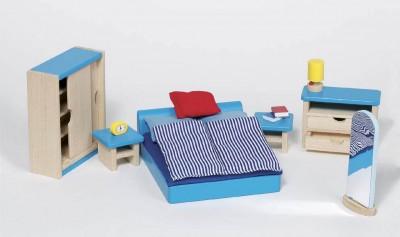 """Puppenhausmöbel """"Schlafzimmer"""""""