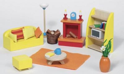 """Puppenhausmöbel """"Wohnzimmer"""""""