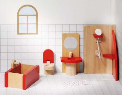 """Puppenhausmöbel """"Badezimmer"""""""