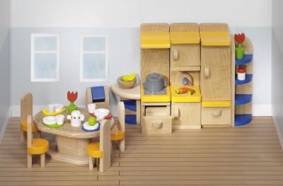 """Puppenhausmöbel """"Küche modern"""""""