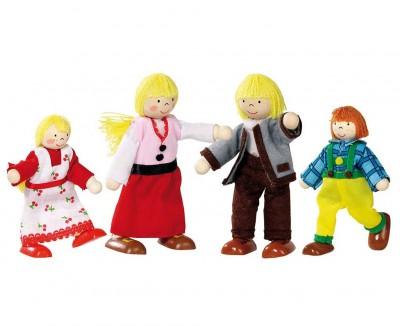 """Biegepuppen """"Alpenhof Familie"""""""