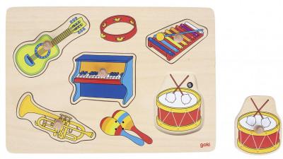 Soundpuzzle Musikinstrumente