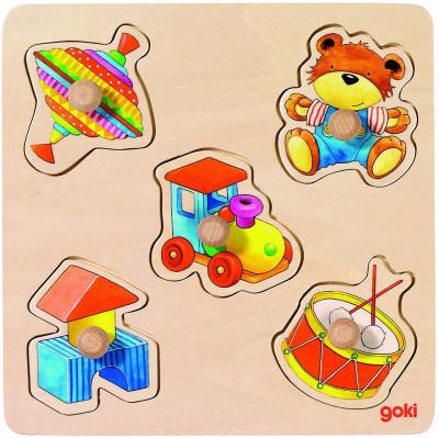 Steckpuzzle Meine Spielsachen