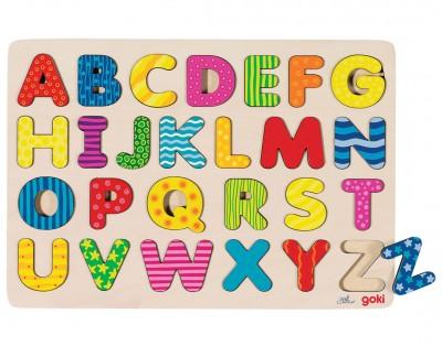 "Puzzle ""ABC"" - bunte Muster"