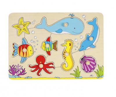 Steckpuzzle Unterwasserwelt