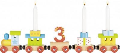 Geburtstagszug mit Magnetverbindungen