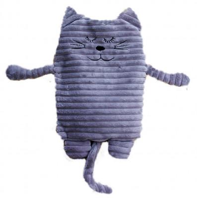 Wärmekissen Katze grau