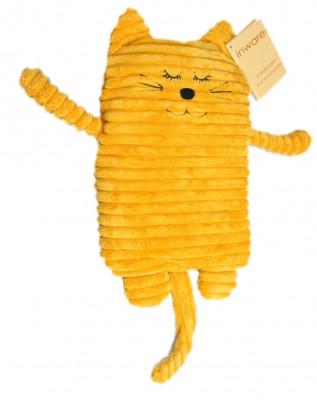 Wärmekissen Katze gelb