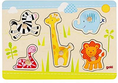 Steckpuzzle Safari
