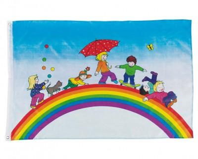 """Flagge """"Spielende Kinder"""""""