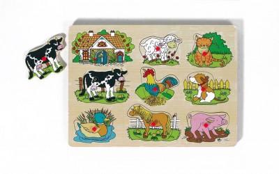 """Tierstimmenpuzzle """"Bauernhof"""""""