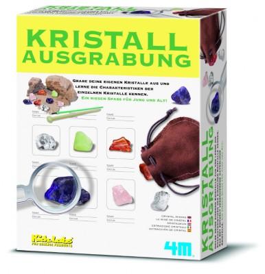 Kristall Ausgrabungsset