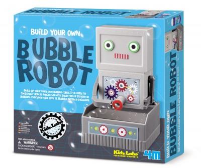Seifenblasen-Roboter Bastelset