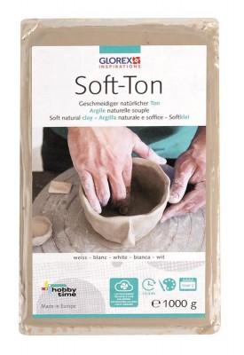 Soft-Ton weiß 1000g