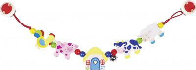Kinderwagenkette Bauernhoftiere