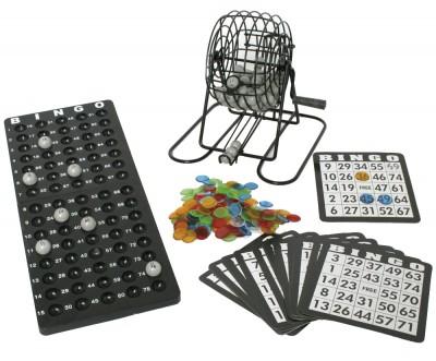 Bingo-Spiel - 25 aus 75