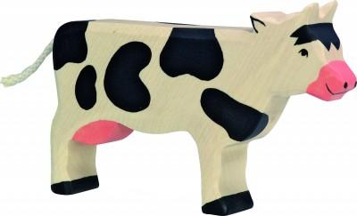Kuh stehend, schwarz