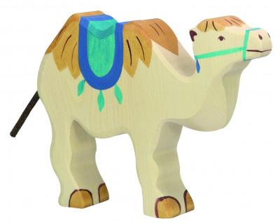 Kamel mit Sattel