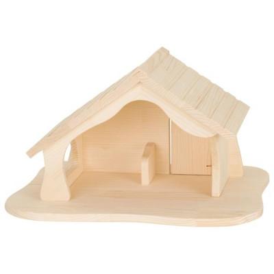 Puppenhaus Weihnachtskrippe / Stall