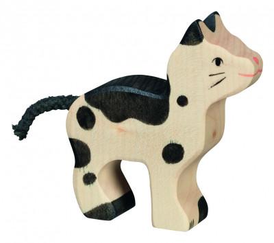 Katze, klein, schwarz-weiß