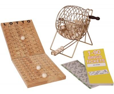 Bingo-Spiel Deluxe 15 aus 90