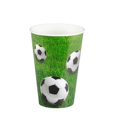 """10 Trinkbecher """"Fußball"""""""