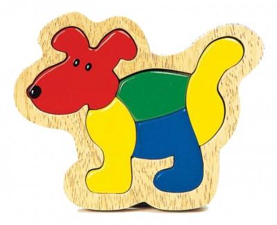 """Einlegepuzzle """"Hund"""""""
