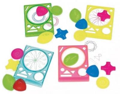 Geometrische Schablonen 4er Set