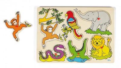 """Tierstimmenpuzzle """"Dschungel"""""""