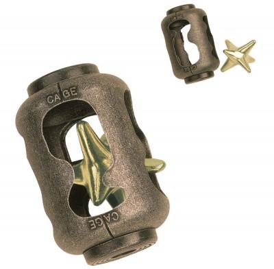 Metallpuzzle Stern im Käfig