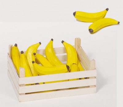 Bananen + Holzkiste