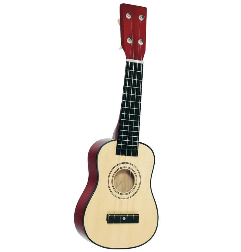 Gitarre mit 4 Saiten kaufen bei AMEISENKEKS.de - Der Spielzeug Experte