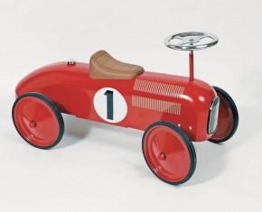 "Rutscherfahrzeug ""Nummer 1"" rot"