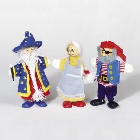 Fingerpuppe + Marionette in Einem