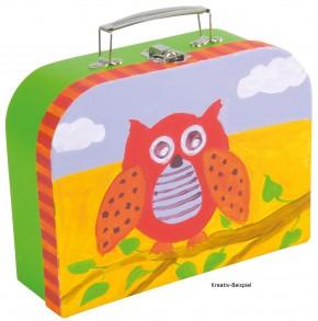 Kinderkoffer blanko