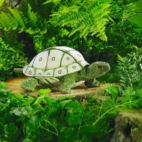 Handpuppe Landschildkröte