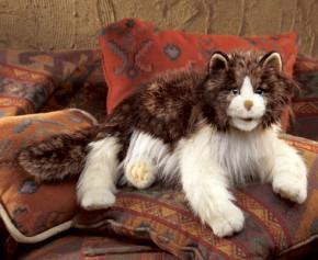 Handpuppe Ragdoll Katze