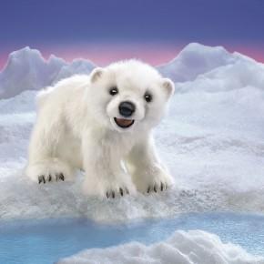 Handpuppe Eisbärenjunges