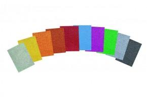 Glitterkarton 10er Set