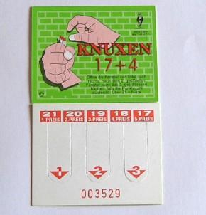 """Gewinnspiel """"Knuxen 17 + 4"""""""