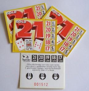"""Gewinnspiel """"Ziffer 21 - GOLD"""""""