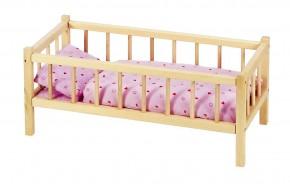 Puppenbett mit Gitter